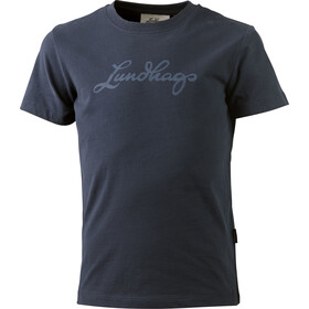 Lundhags T-Shirt Kinder deep blue